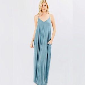 Maxi Dress With Pockets NWT!